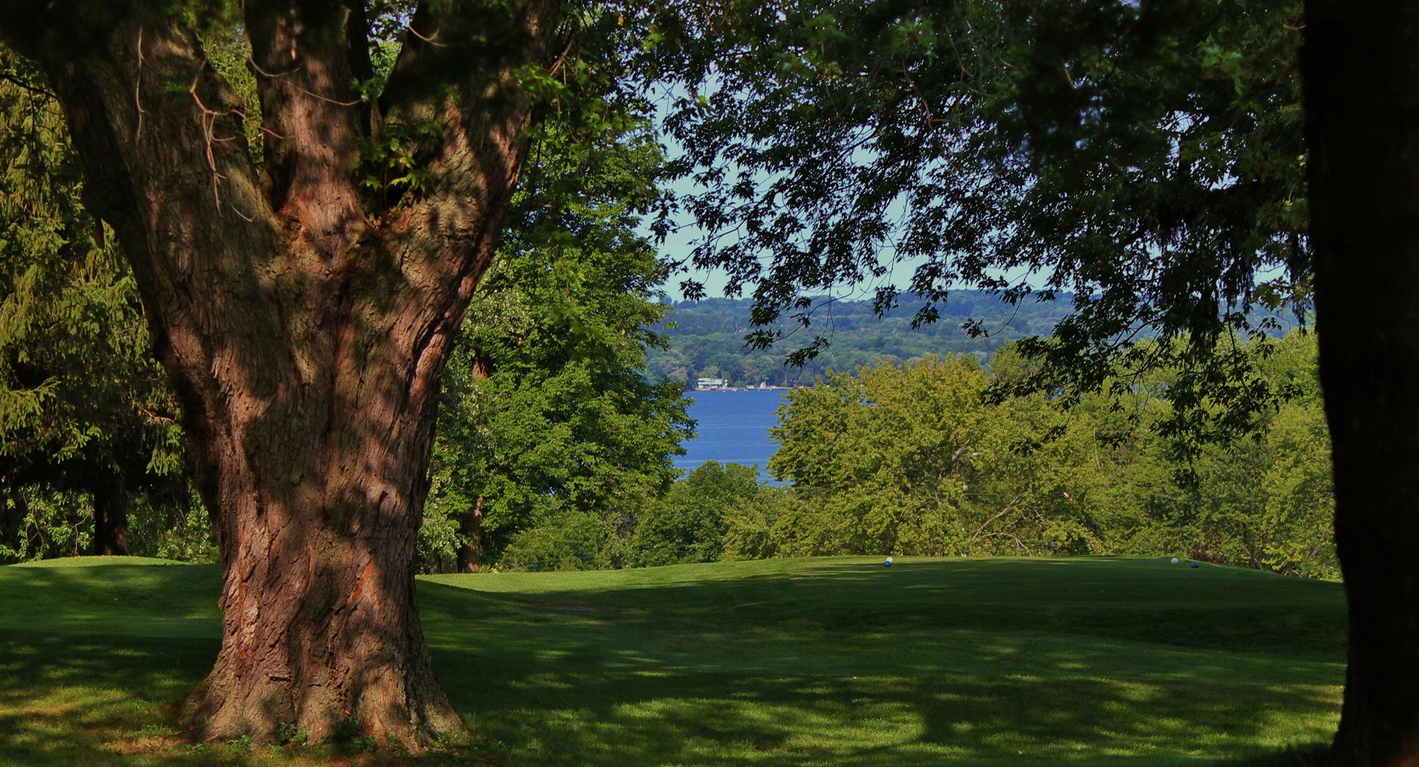 Orchard Beach - 9th hole - lake view